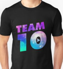 Galaxy team 10- jake paul T-Shirt
