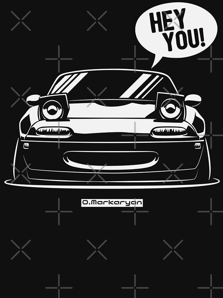 Hey you! Miata by OlegMarkaryan