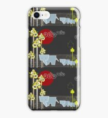 Elephant Family In The Forest iPhone Case/Skin