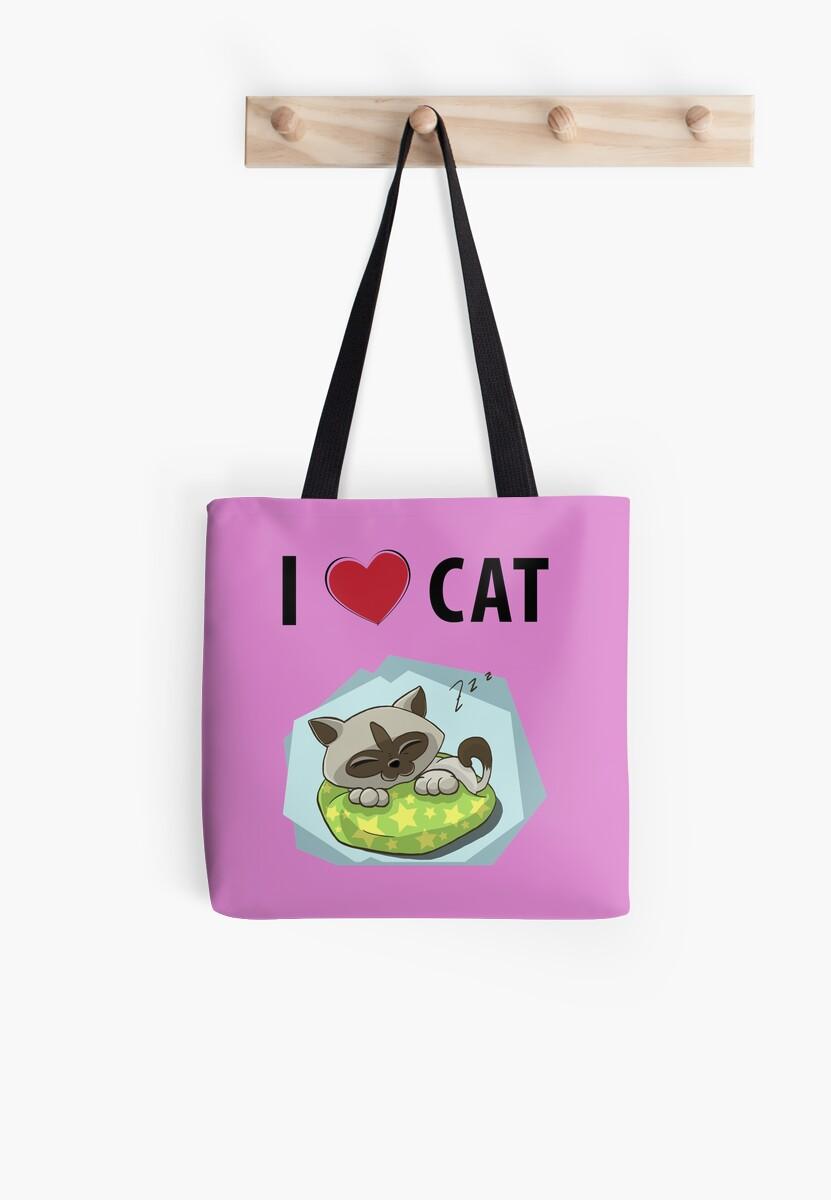I Love Cat by teegear