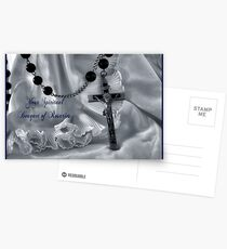 Spiritual Bouquet Greeting Card and more Postcards
