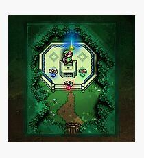Zelda Link to the Past Master Sword Photographic Print