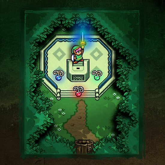 Zelda Link to the Past Master Sword by likelikes