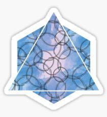 Wires Blue Sticker