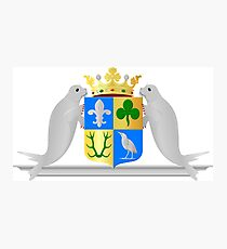 Zeewolde Coat of Arms, Netherlands Photographic Print