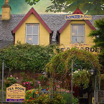 The Tea Garden Cafe -  Mallaig, Scotland by Photograph2u