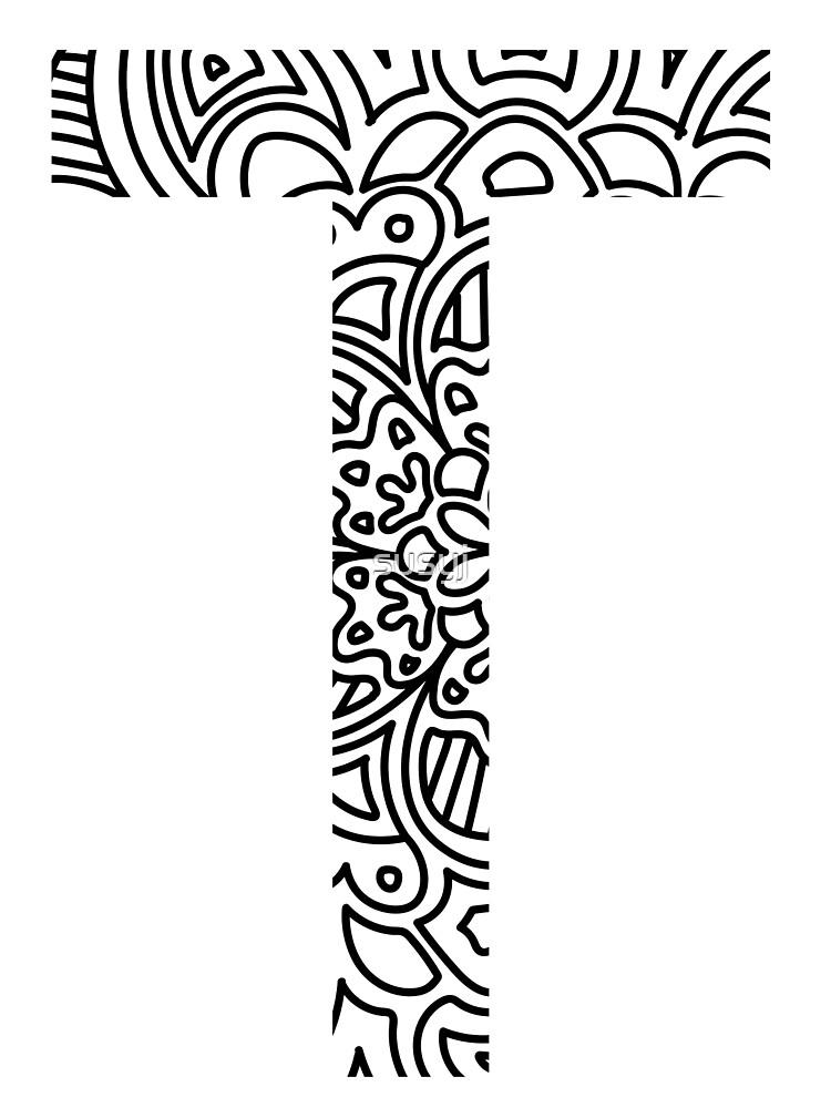 Tau - Greek Letter Sorority Sticker by susyj