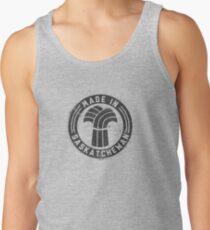 Made in Saskatchewan Grunge Dark Logo Tank Top