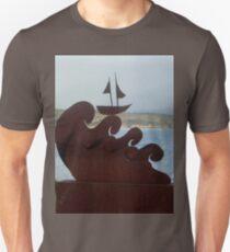 Sculpture Bermagui - Ship On Seas,Australia 2017 T-Shirt