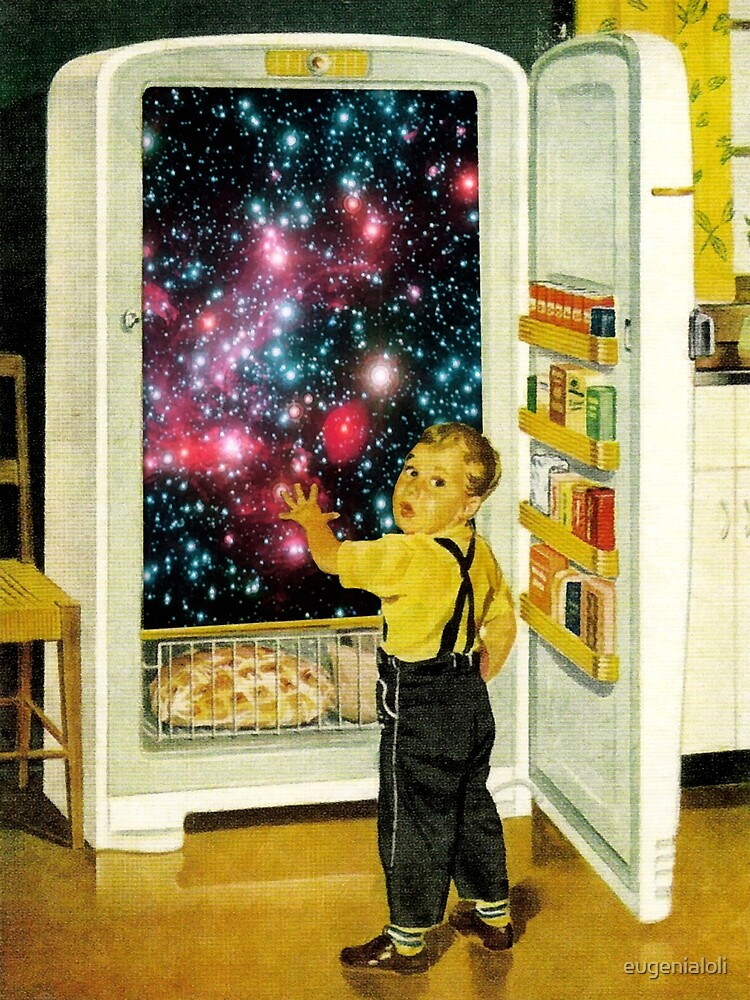 No More Galaxies for Today, Timmy! by eugenialoli