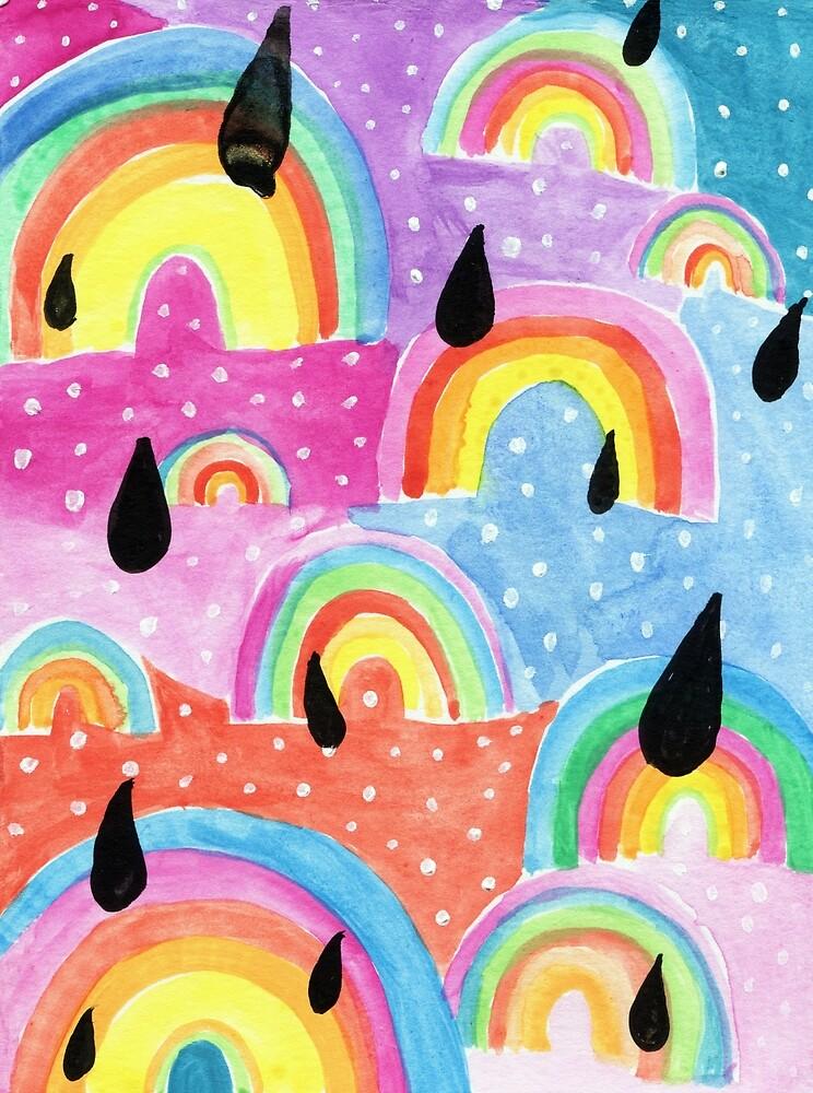 Rainbow Drops by microstudio