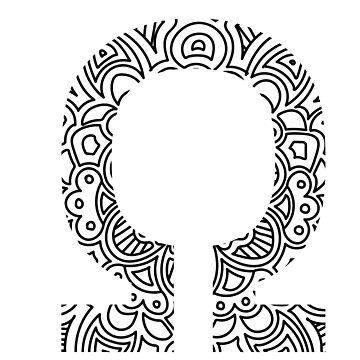 Omega - Greek Letter Sorority Sticker by susyj