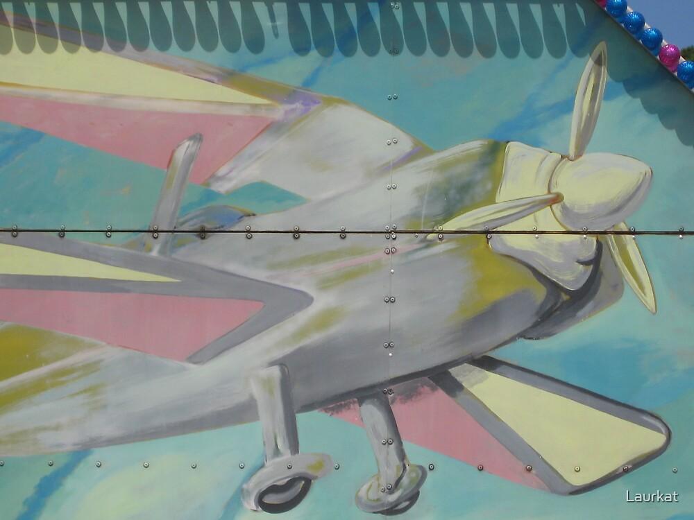 carnival ride aeroplane by Laurkat