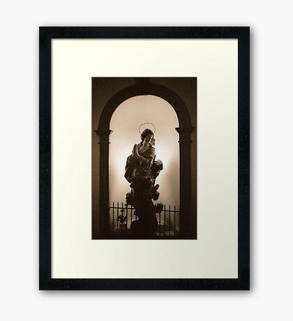 Praying Framed Print