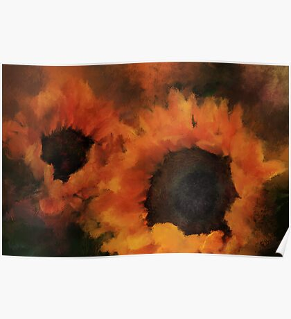 Sunflower Magic Poster