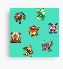 Pokemon Weirdos Canvas Print