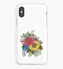 SUNFLOWER & ROSE iPhone Case