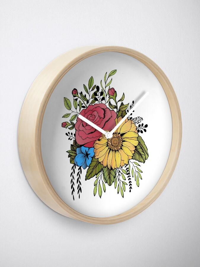 Vista alternativa de Reloj GIRASOL Y ROSA