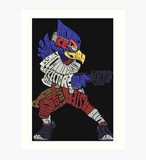 That Ain't Falco!   Falco Typography Art Print