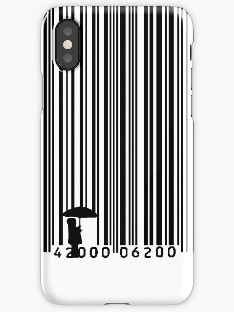 Umbrella Barcode (Black) by ceejsterrr