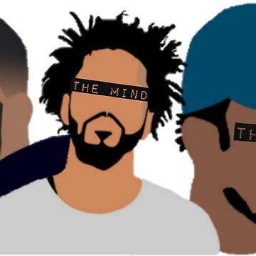 Drake, J Cole, Kendrick Lamar (Heart, Mind, Soul) by samgendelman