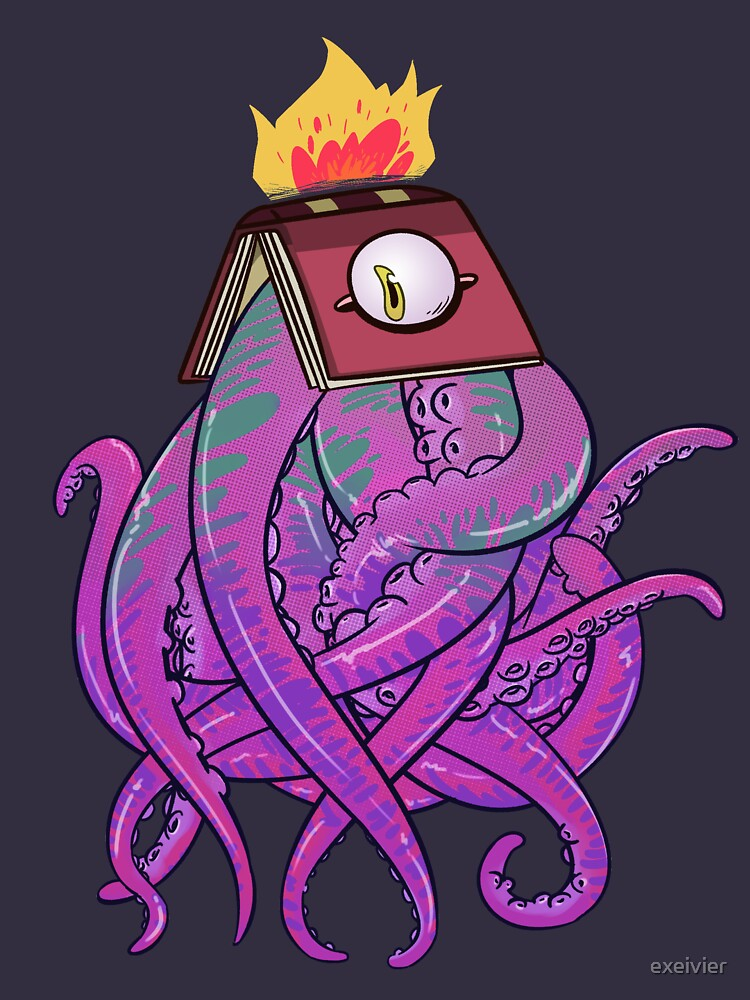Booktopus by exeivier