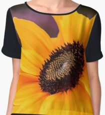 Sunflower Glory Women's Chiffon Top