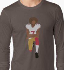 Kneeling Kaepernick Long Sleeve T-Shirt