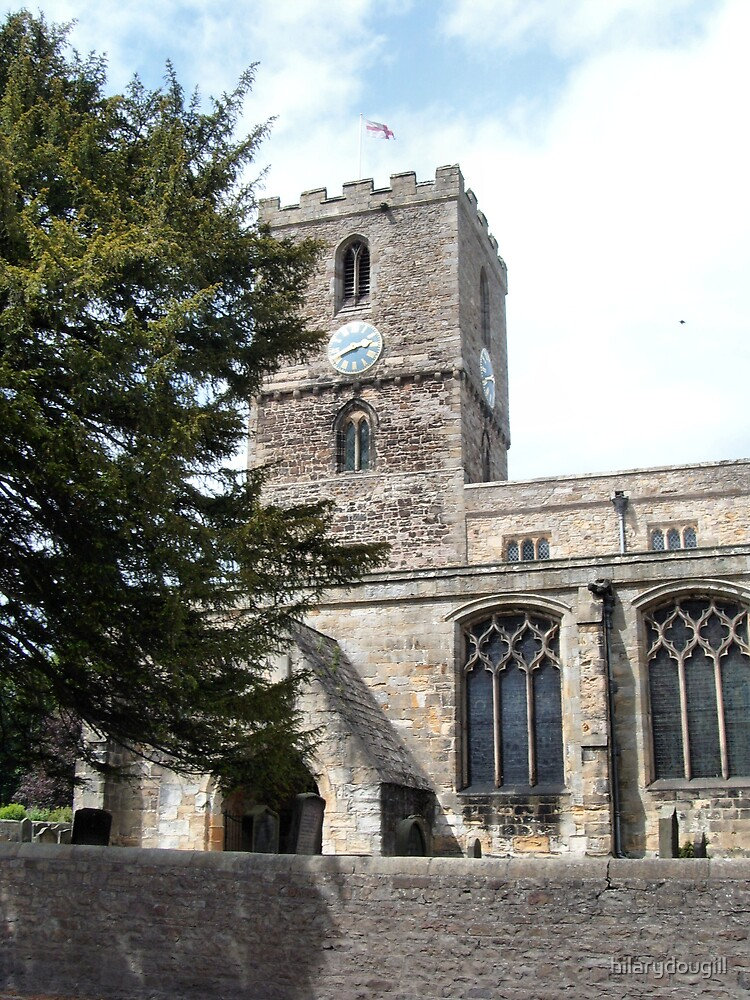 Staindrop Church from the front by hilarydougill