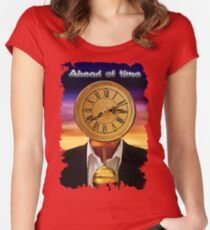 The New Exhibit 2015 Women's Fitted Scoop T-Shirt