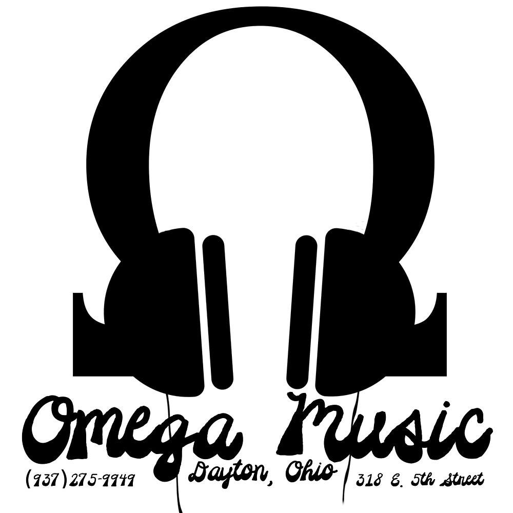 Omega Music Record Store Headphones Design by omegamusic