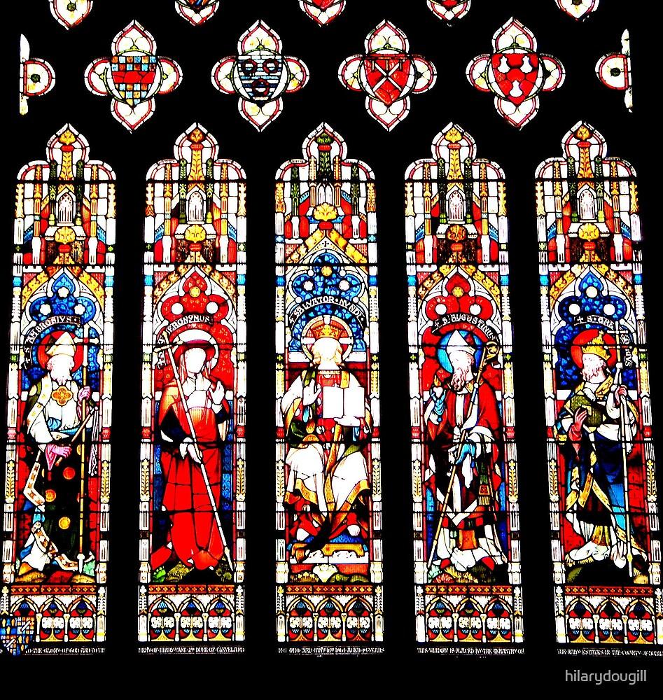Window over the High Altar. by hilarydougill