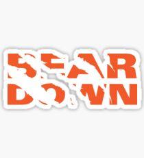 Chicago Bears - Bear Down - Claw Tear Sticker