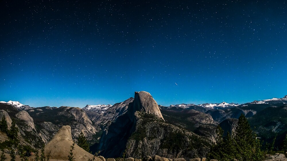 starry mountains by Timfizzle
