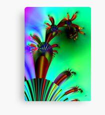 Fractal Cactus Canvas Print