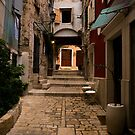 Stari Grad Street by Rae Tucker