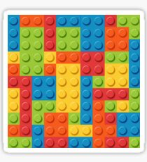 Plastic Bricks Sticker