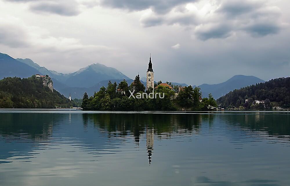 Lake Bled by Xandru