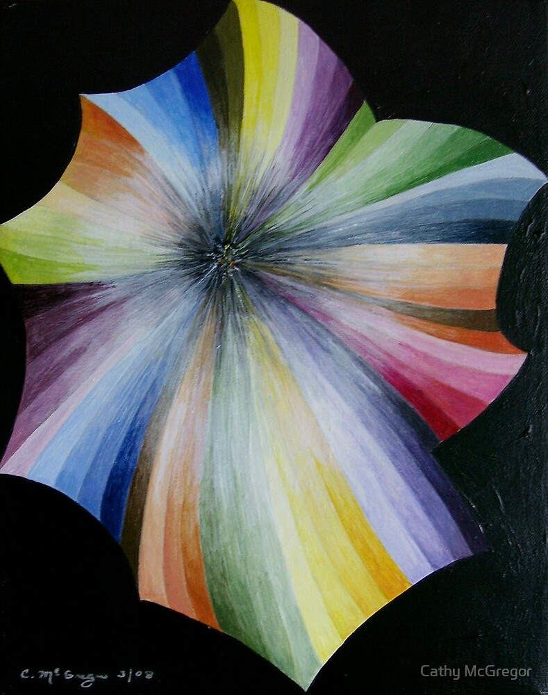 Cosmic Flower by Cathy McGregor