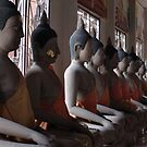 Buddha Row by Dave Lloyd