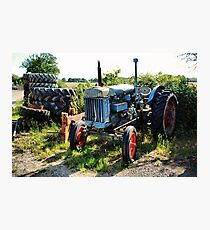 Fordson Major Photographic Print