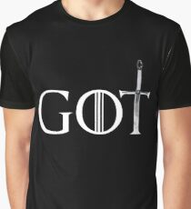 Game of thrones GOT sword Graphic T-Shirt