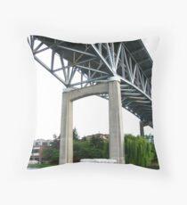 I5 Bridge, Seattle Throw Pillow
