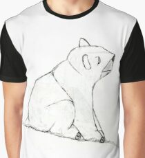 Bear On A Hill Graphic T-Shirt