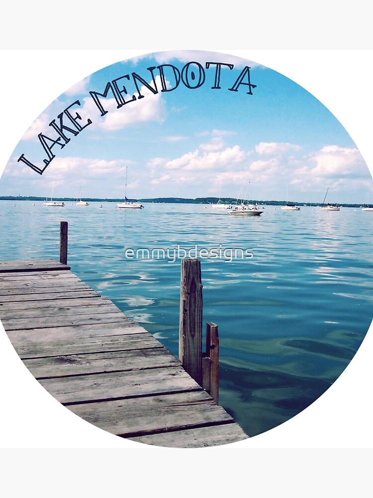 Lake Mendota Picture Circle by emmybdesigns