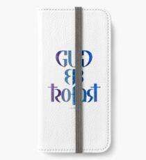 Gud er trofast iPhone Wallet/Case/Skin