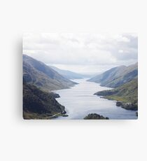 LOCH SHIEL SCOTTISH HIGHLANDS Canvas Print