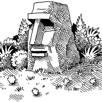 Hidden Jungle monolith by awcomix