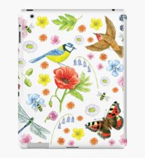 Natural History on White iPad Case/Skin