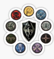Shields of Skyrim Sticker